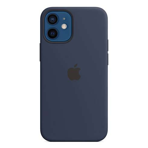 Apple iPhone 12 mini Silicone Case with MagSafe - Deep Navy