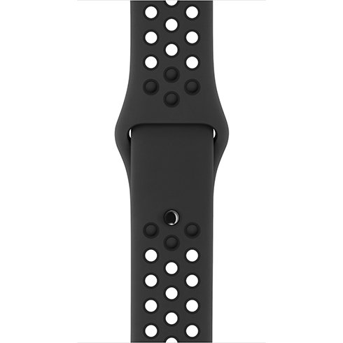 Apple Watch 38mm Anthracite/Black Nike Sport Band - S/M & M/L