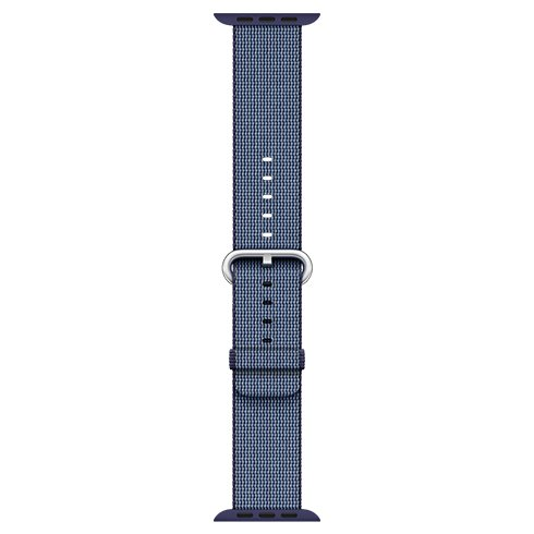 Apple Watch 38mm Midnight Blue Woven Nylon