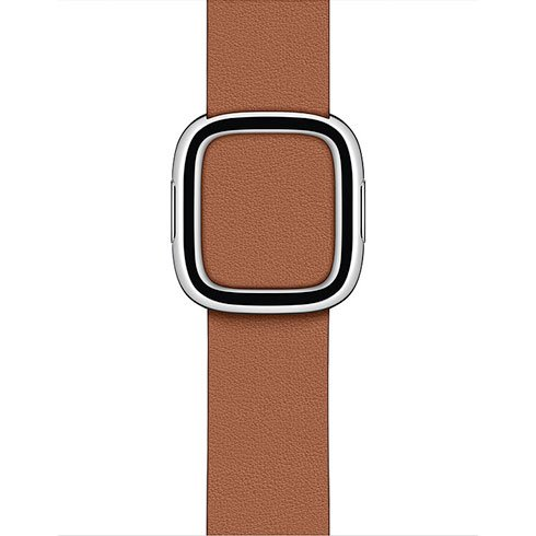 Apple Watch 40mm Saddle Brown Modern Buckle - malý
