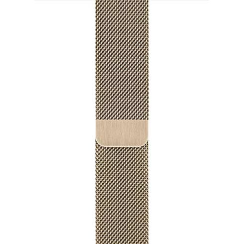 Apple Watch 44mm Gold Milanese Loop
