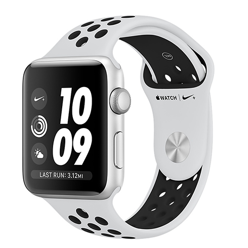 Apple Watch Nike+ GPS, Series 3, 42mm pouzdro ze s
