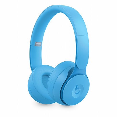 Beats Solo Pro Wireless Noise Cancelling Headphones - More Matte Collection - Light Blue