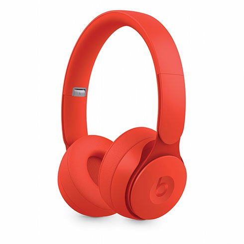 Beats Solo Pro Wireless Noise Cancelling Headphones - More Matte Collection - Red