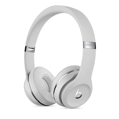 Beats Solo3 Wireless On-Ear Headphones - Icon Collection –Satin Silver