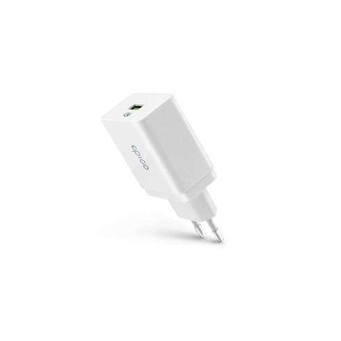 EPICO Wall Charger 18W QC 3.0 White