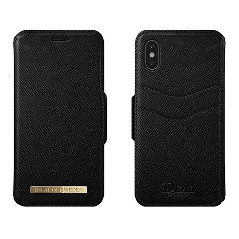 iDeal Fashion Wallet iPhone X/XS Black