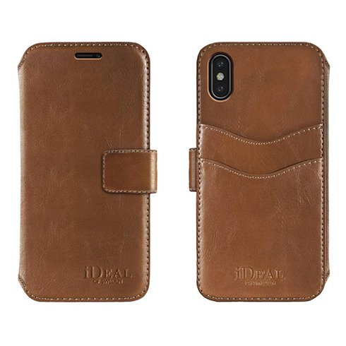 iDeal STHLM Wallet iPhone X/XS Brown