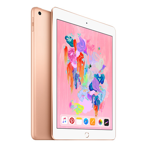 iPad 32GB Wi-Fi + Cellular zlatý (2018)