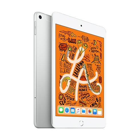 iPad mini Wi-Fi + Cellular 64GB Stříbrný