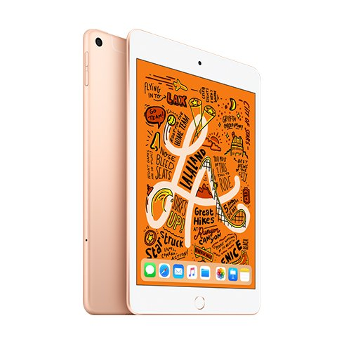 iPad mini Wi-Fi + Cellular 64GB Zlatý