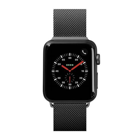 LAUT řemínek Steel Loop pro Apple Watch 44/42mm - Black