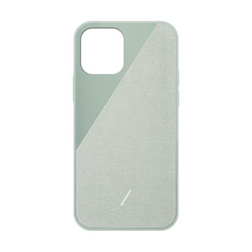 Native Union kryt Clic Canvas pro iPhone 12/12 Pro - Sage